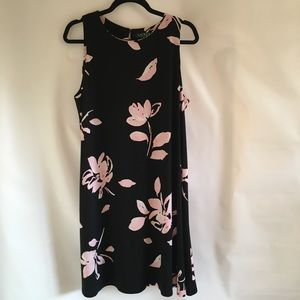 LAUREN Ralph Lauren Sleeveless Floral Dress S 16
